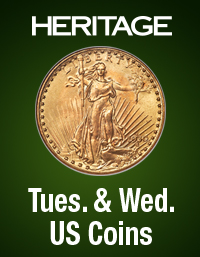 Event image for Heritage U.S. Coins Weekly Auction