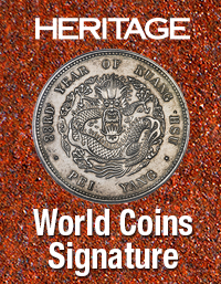 Event image for Heritage World & Ancient Coins Signature Auction