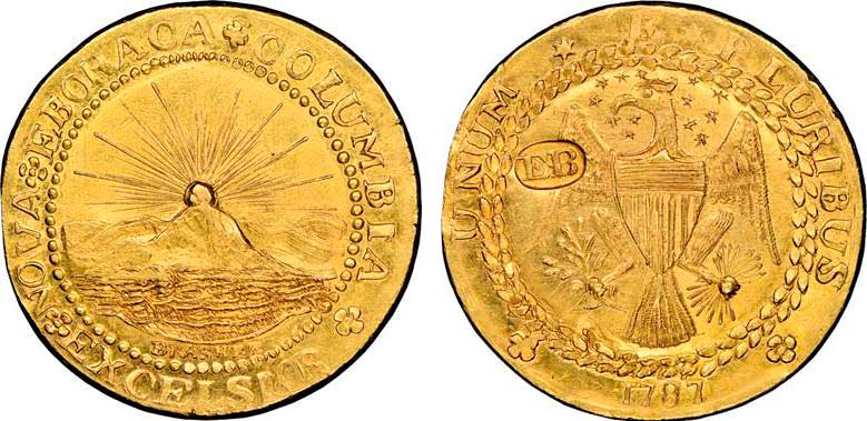 thumbnail image for Heritage Auctions to offer the historic, and unparalleled, Donald G. Partrick Collection Featuring not One, but Two, Brasher Doubloons