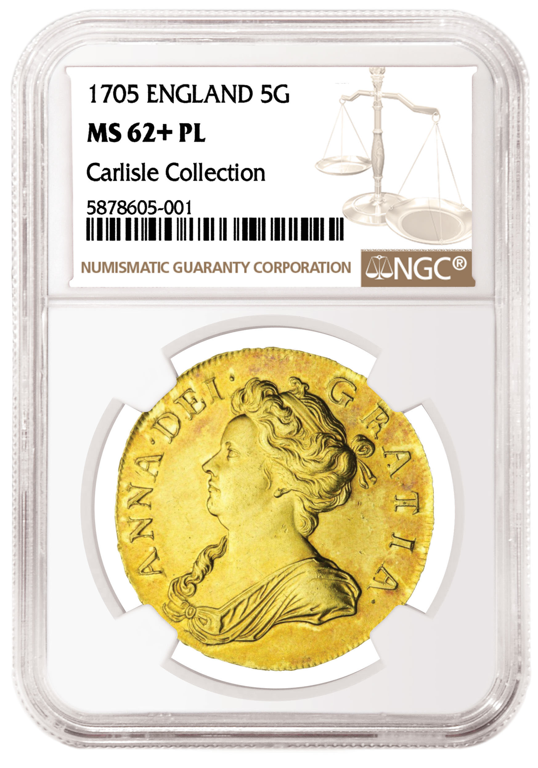 main image for NGC-certified English Gold Coins Showcased in Spink Sale