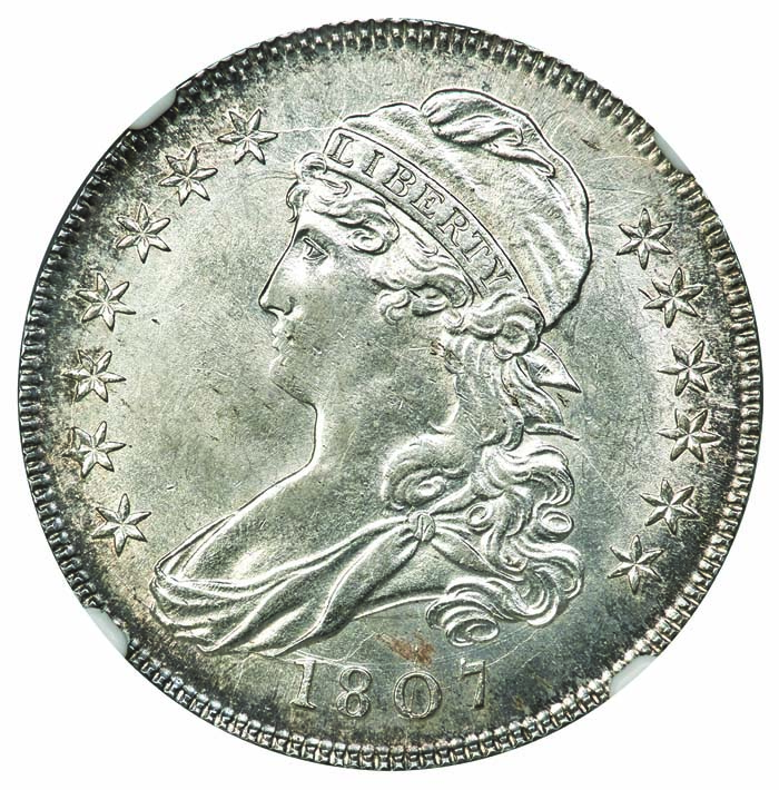 main image for Reich Capped Bust Half Dollars, Part 2: 1807