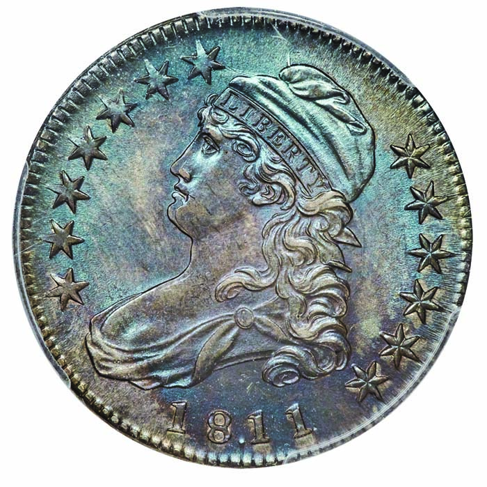 thumbnail image for Reich Capped Bust Half Dollars, Part 3: 1811/0 With Period