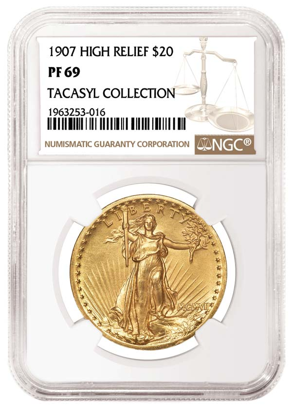 thumbnail image for NGC-certified 1907 High Relief Double Eagle Soars to $660,000 at Heritage Sale