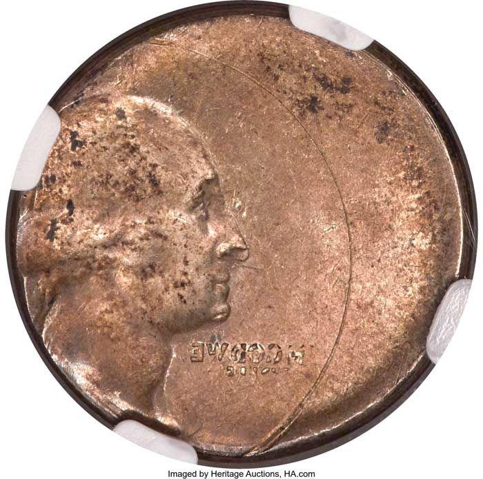 thumbnail image for Error Coin Sidelines George Washington