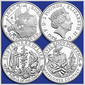 thumbnail image for United States Mint Announces Mayflower 400th Anniversary Program Products
