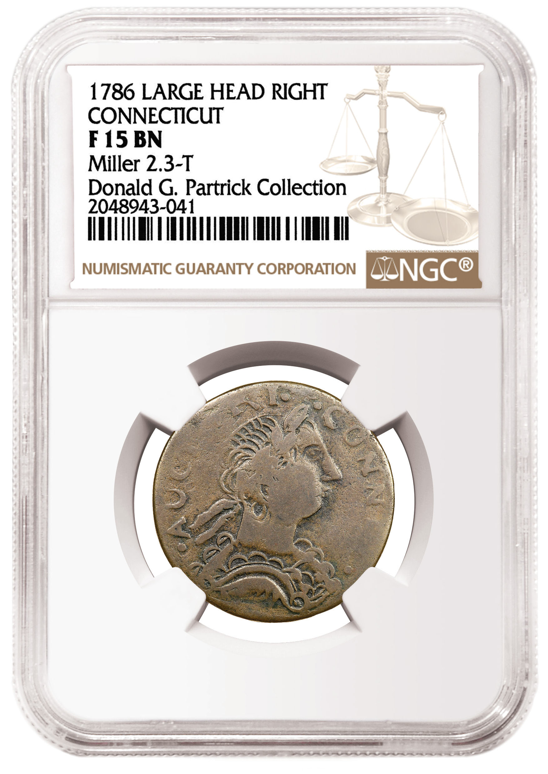 thumbnail image for Stunning NGC-certified Connecticut Coppers from the Partrick Collection Being Sold