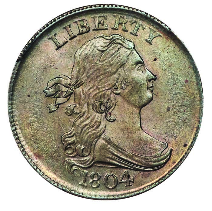 thumbnail image for Draped Bust Half Cents: An Easy Early Series for Collectors