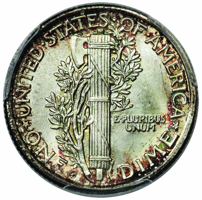 main image for Have Premiums for Full Band Mercury Dimes Gone Too Far?