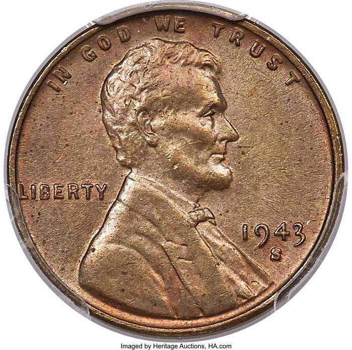 main image for Heritage Auctions Presents a 1943 Bronze Penny Bonanza