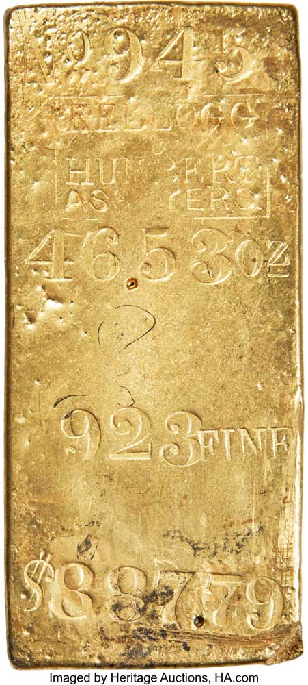 thumbnail image for Hefty, Historic Gold Bar Highlights November Auction