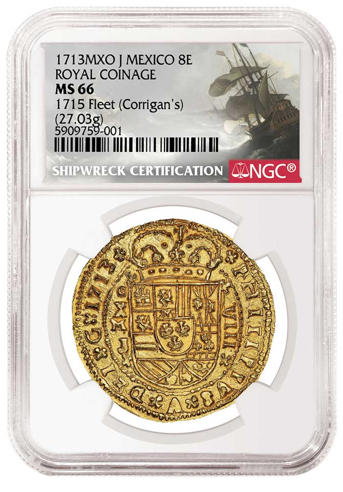 main image for Renowned NGC-certified Spanish Gold Royal Debuts in Sedwick Auction