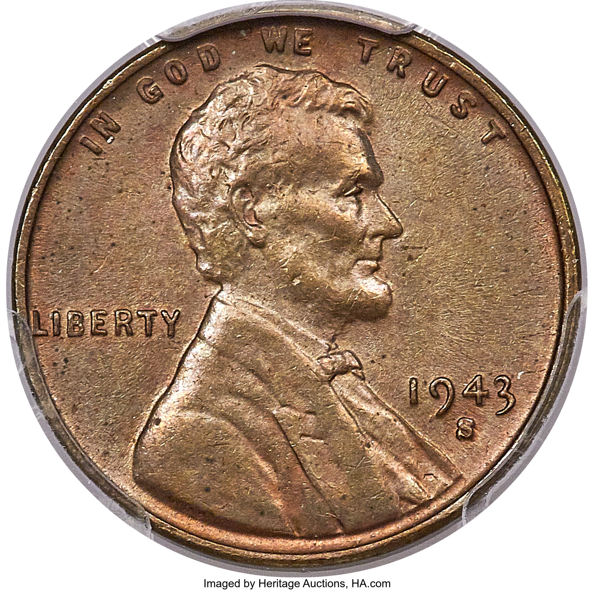 main image for Bronze Penny Error from 1943 Realizes Over $500k at Heritage Auction