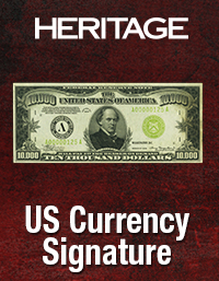 Heritage U.S. Currency Platinum Night & Signature Auctions - FUN