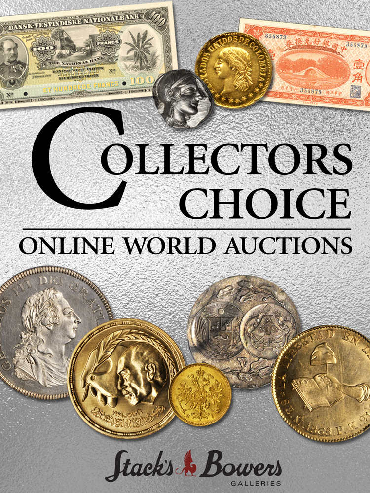 Event image for Stacks Bowers Collectors Choice Online World Auctions