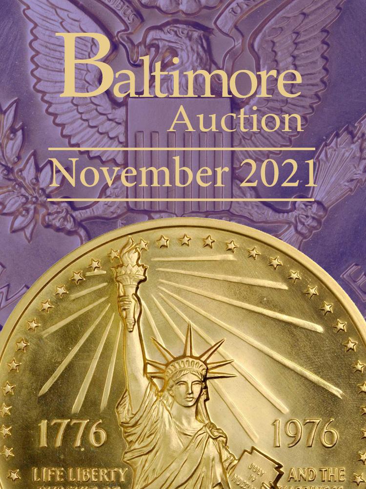 Stacks Bowers November 2021 Baltimore Auction