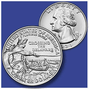 enlarged image for United States Mint Announces New Quarter Dollar Reverse Design