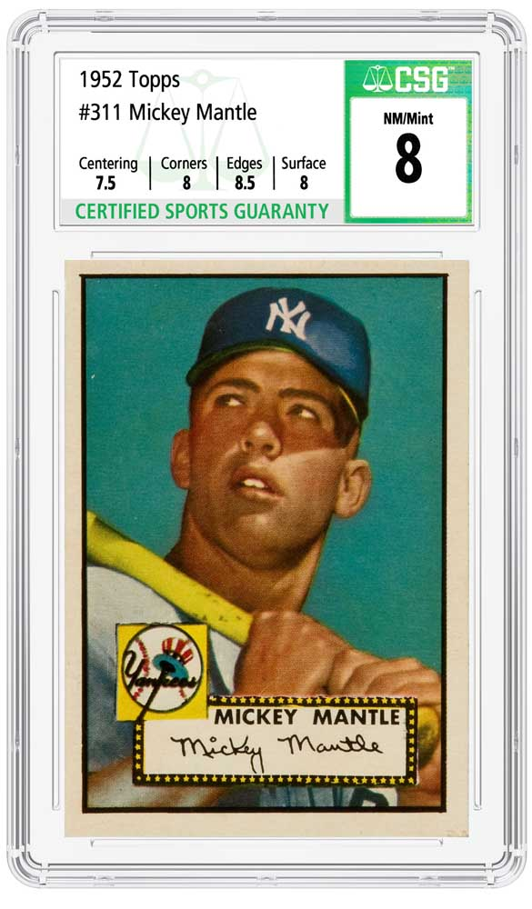 enlarged image for CSG, an Expert & Impartial Grading Service for Sports Cards, Is Launching Soon!