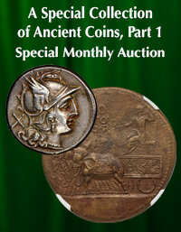 Heritage World & Ancient Coins A Special Collection of Ancient Coins, Part 1 Special Monthly Auction