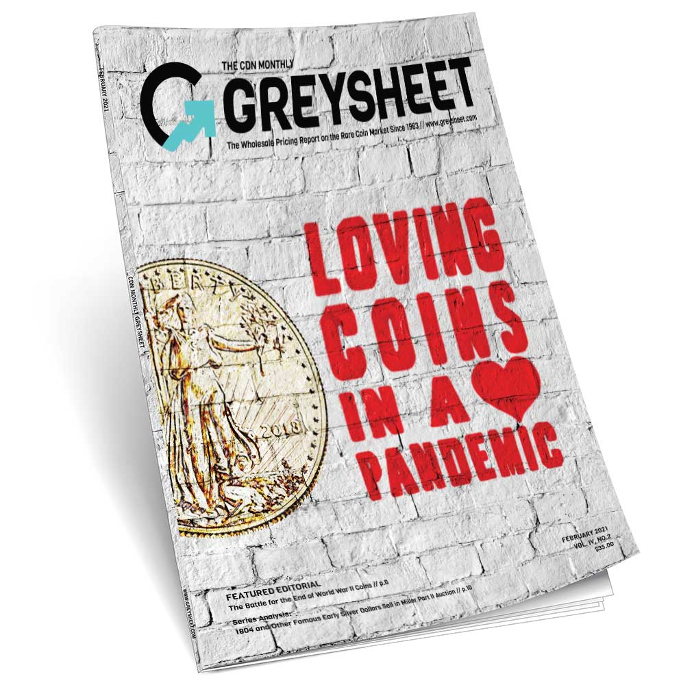 thumbnail image for The February Greysheet Publishers Report: Loving Coins In a Pandemic