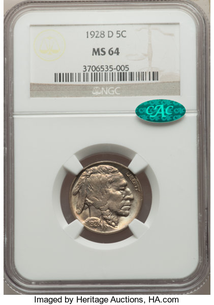 thumbnail image for CAC Coins For less Than $150 Each, Part 2: Buffalo Nickels
