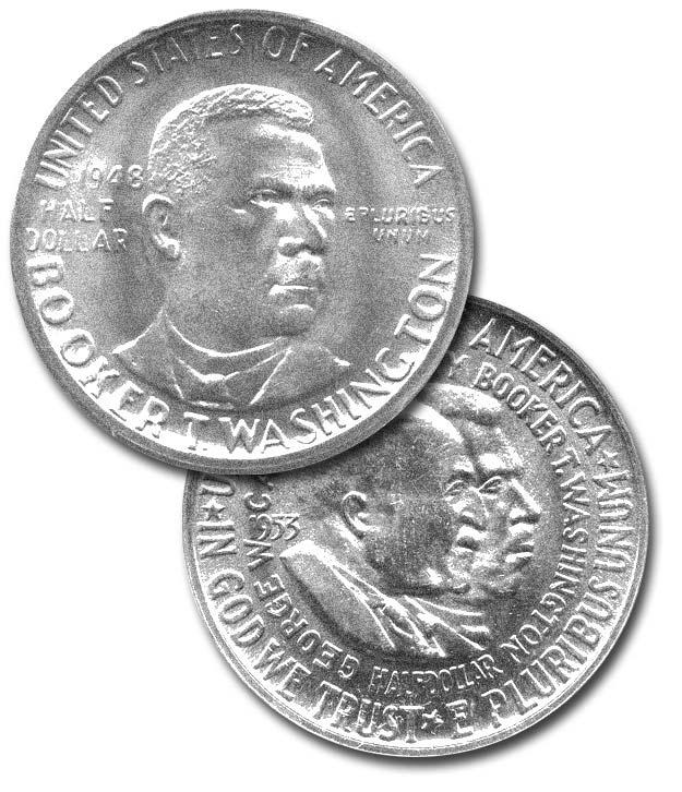 The Conditional Rarity of BTW & Washington-Carver Commemorative Halves