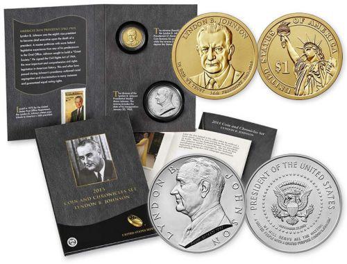The final Presidential Coin & Chronicles Set: Lyndon B. Johnson