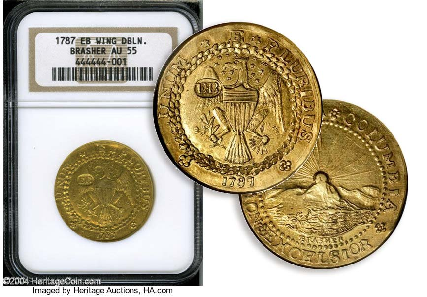 Gold RUsh Brasher Doubloon