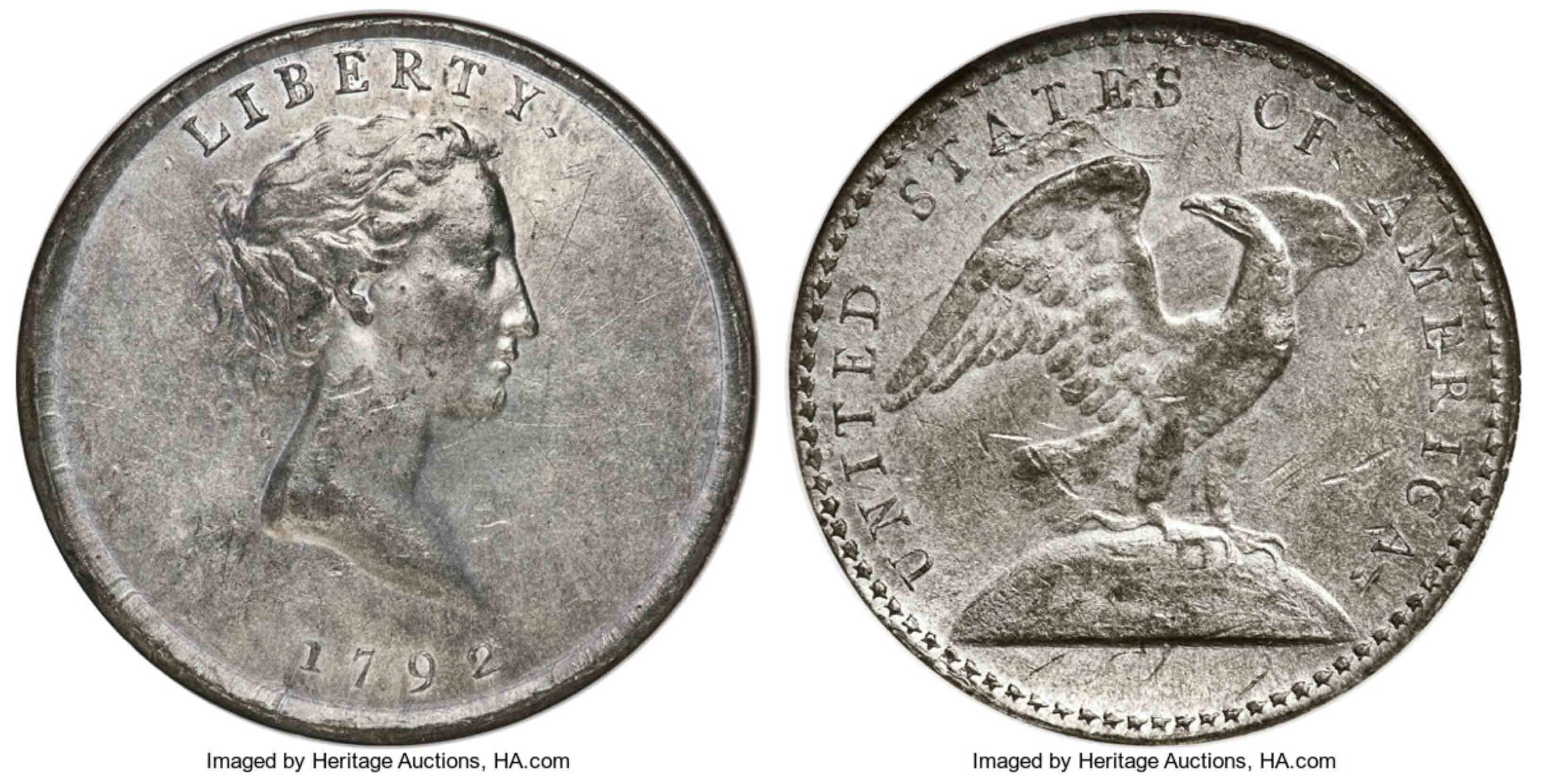 thumbnail image for Historic 1792 Judd-13 Pattern to Appear at Heritage Auctions