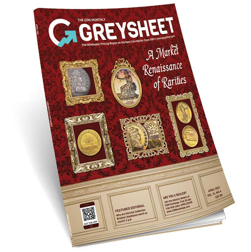thumbnail image for Publishers Message (April 2021 Greysheet)