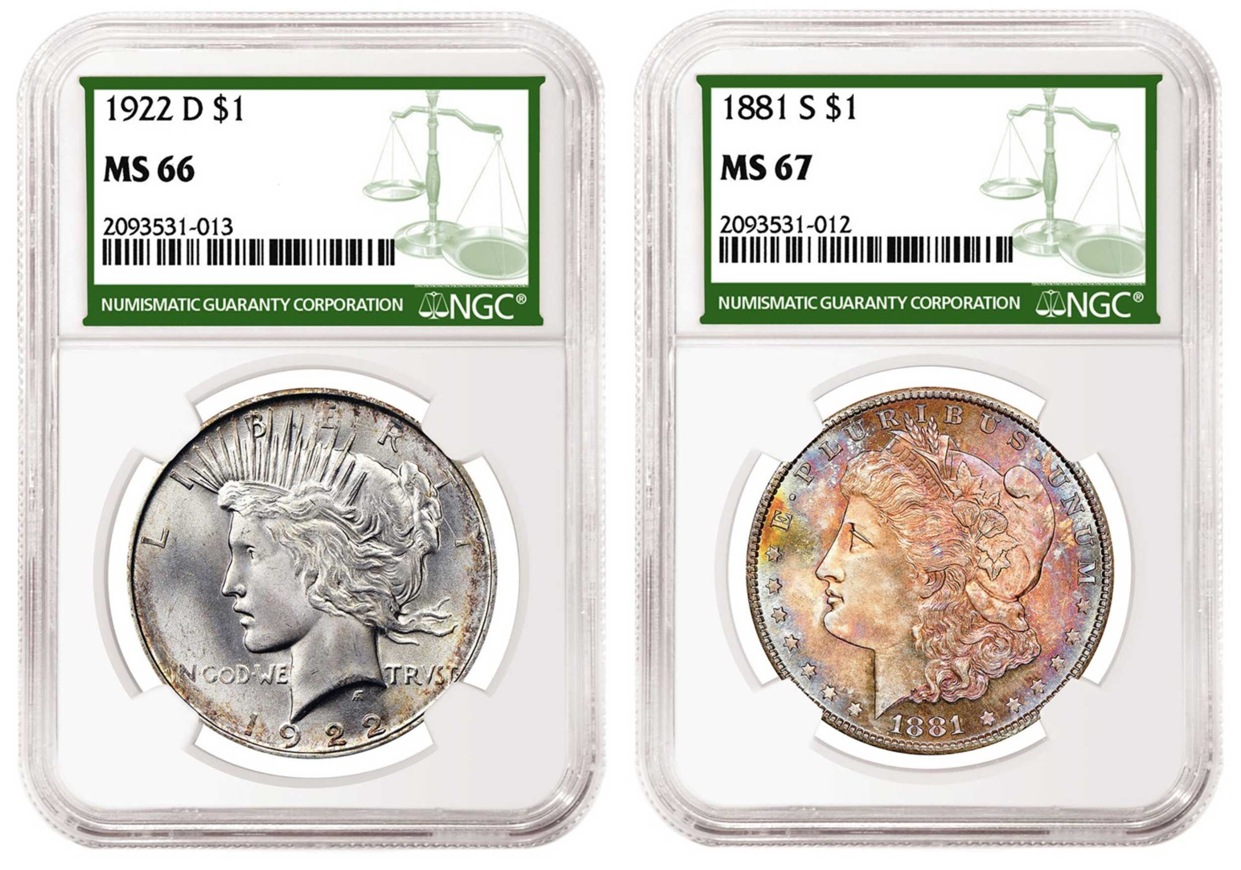 thumbnail image for A Major Dealer is Making Markets for Quality Coins Certified with the New NGC Green Label