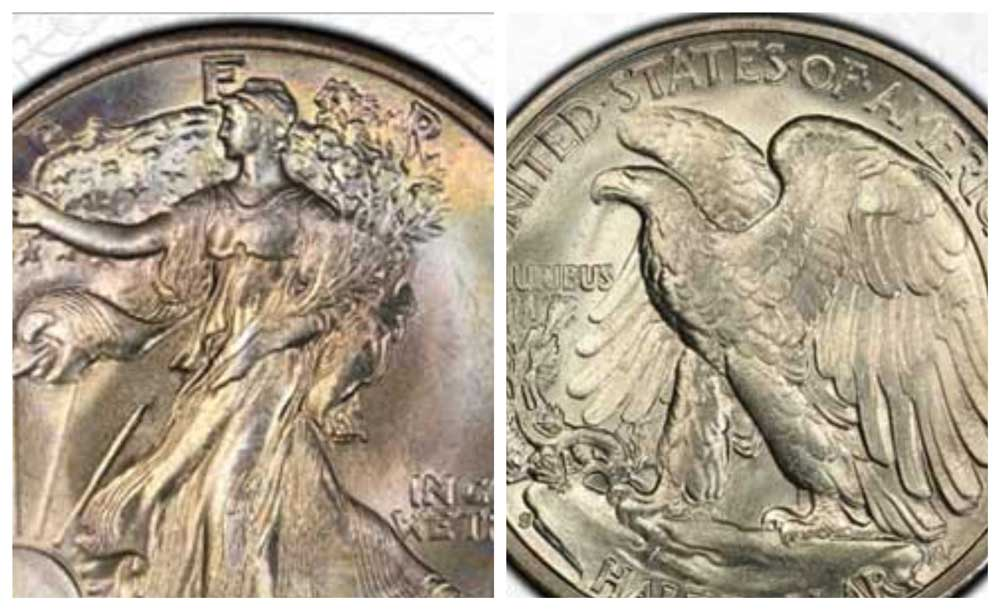 thumbnail image for Our Top 5 Coins from Legends' offering of the Gerald Forsythe Walking Liberty Half Dollar Collection