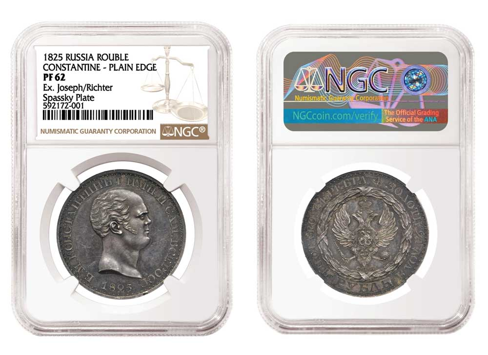 thumbnail image for NGC-graded Russian Coin Realizes an Astounding $2.64 Million, Quadruple Its Pre-Auction Estimate