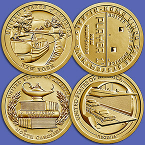 United States Mint Announces 2021 American Innovation® $1 Coin Program Designs