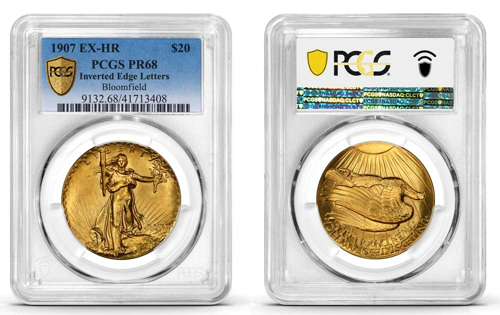 thumbnail image for 1907 Ultra High Relief Double Eagle Graded by PCGS Sells for $4.1 Million