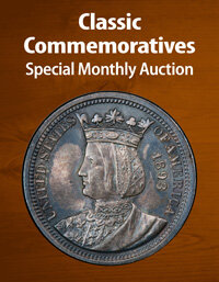 Event image for Heritage Classic Commemoratives US Coins Special Monthly Auction