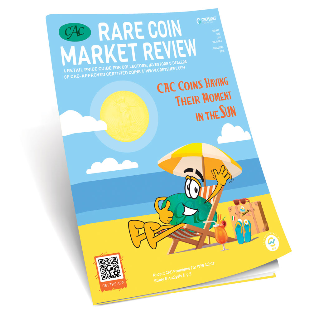 thumbnail image for CAC Rare Coin Market Review Summer 2021 Publisher's Message
