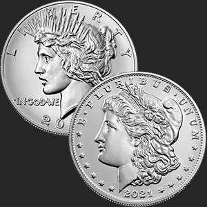 thumbnail image for United States Mint Offering 2021 Morgan and Peace Dollars in Three Pre-order Windows