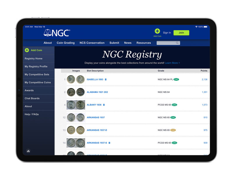 thumbnail image for The NGC Registry Will Soon Recognize CAC Coins