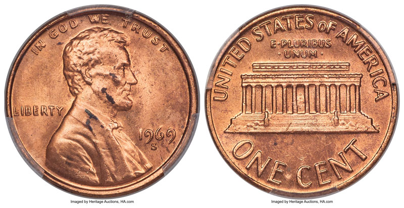 thumbnail image for Seeing Double! Rare Doubled Die Cent Could Sell For Six Figures