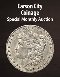 Heritage Carson City Coinage Special Monthly Auction