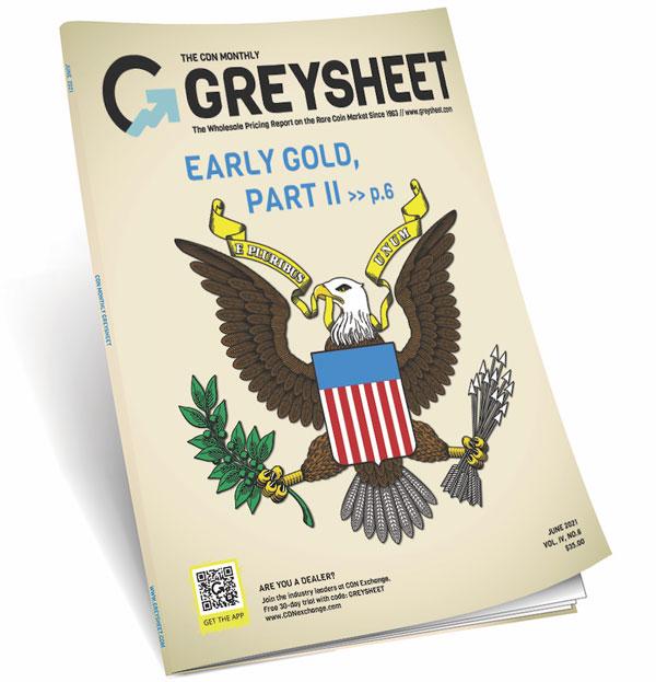 thumbnail image for Publishers Message (June 2021 Greysheet)