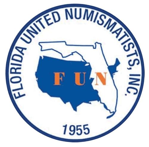 Florida United Numismatists, Inc. Logo