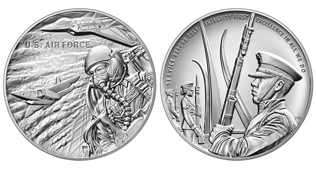 thumbnail image for United States Mint Launches Armed Forces Silver Medal Program on June 22