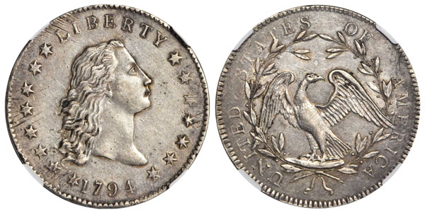 thumbnail image for Newly Discovered 1794 Dollar to be Featured in the Stack's Bowers Galleries August ANA Auction