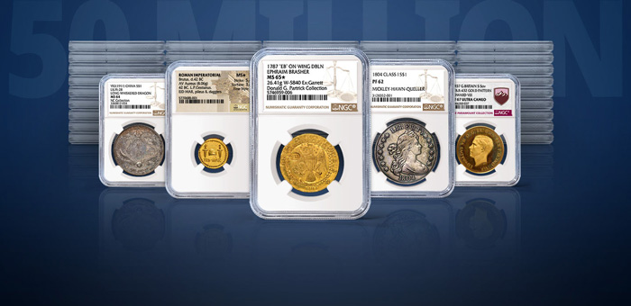 thumbnail image for NGC Celebrates 50 Million Coins, Tokens and Medals Certified
