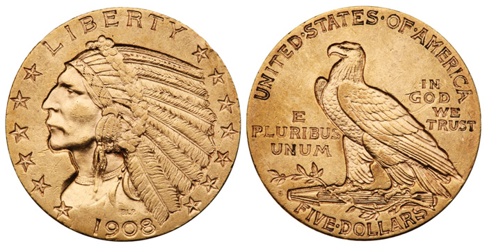 thumbnail image for A Low Cost Set of Indian Head Half Eagles