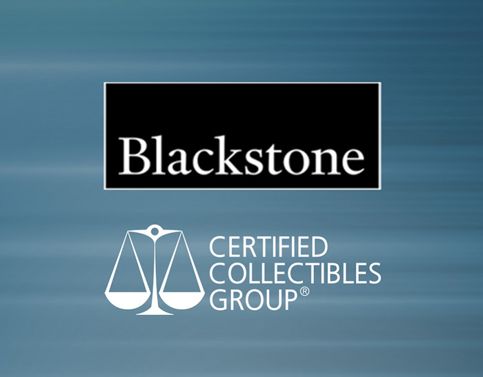 thumbnail image for BIG NEWS! Blackstone Tactical Opportunities to Acquire the Certified Collectibles Group