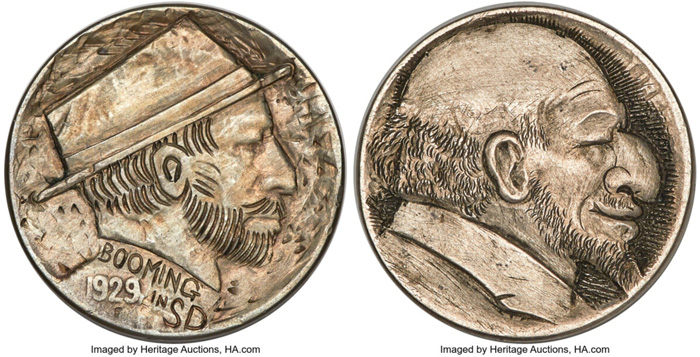 thumbnail image for Heritage to Offer Wonderful Assortment of Hobo Nickels