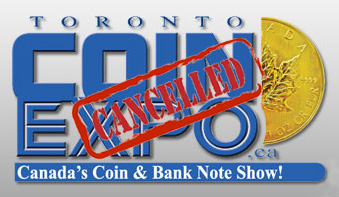 thumbnail image for Fall Toronto Coin Expo to be Cancelled