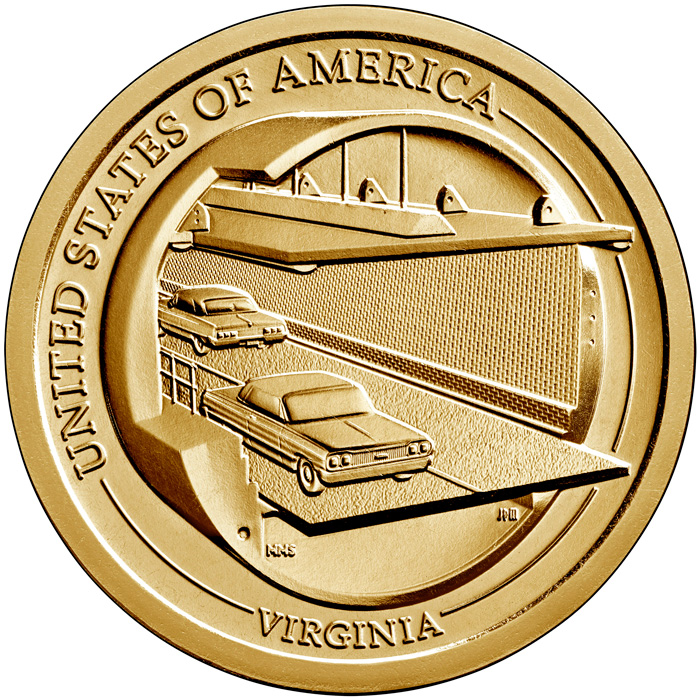 thumbnail image for United States Mint Opens Sales for Virginia American Innovation® $1 Coin Products on July 27